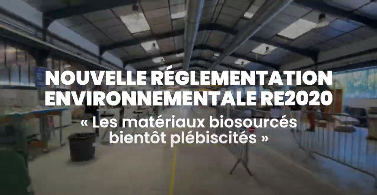 RE2020 et matériaux biosourcés